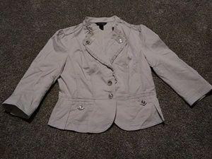 White House Black Market size 10 jacket